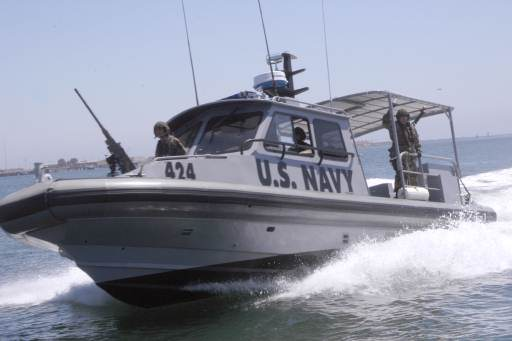 US Navy Special Operations Patrol Boat