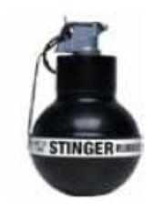 Stinger Rubber Ball Grenade 104